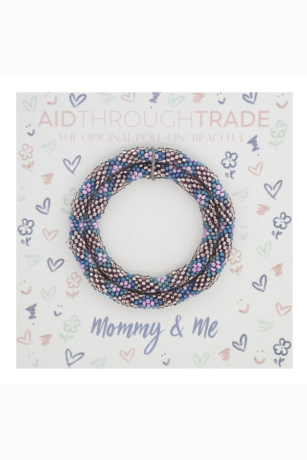 Mommy & Me Roll On Bracelet Set - Mermaid