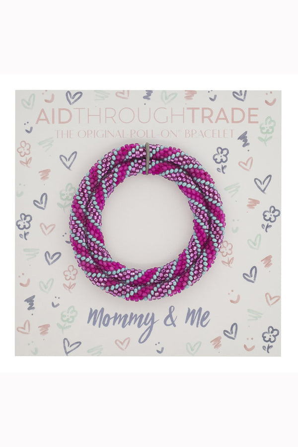 Mommy & Me Roll On Bracelet Set - Princess