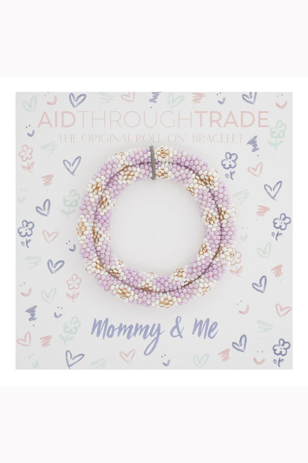 Mommy & Me Roll On Bracelet Set - Teacup
