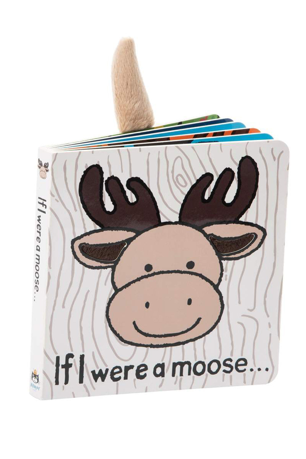 Jellycat Book - If I Were a Moose