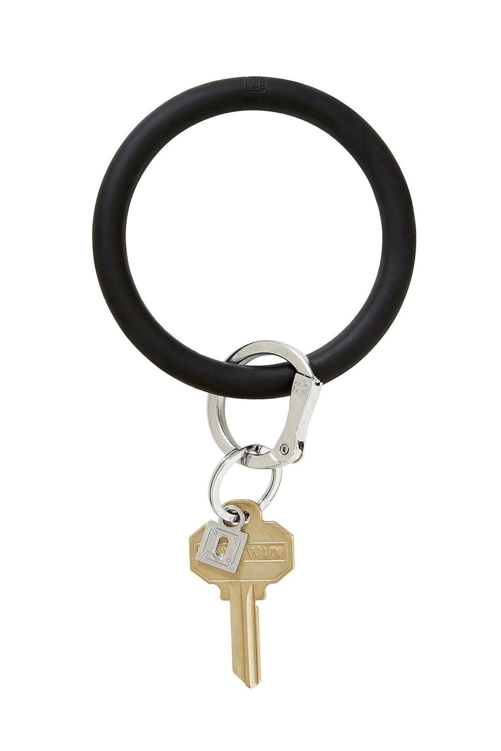 The BIG O Key Ring *Silicone* - Back in Black