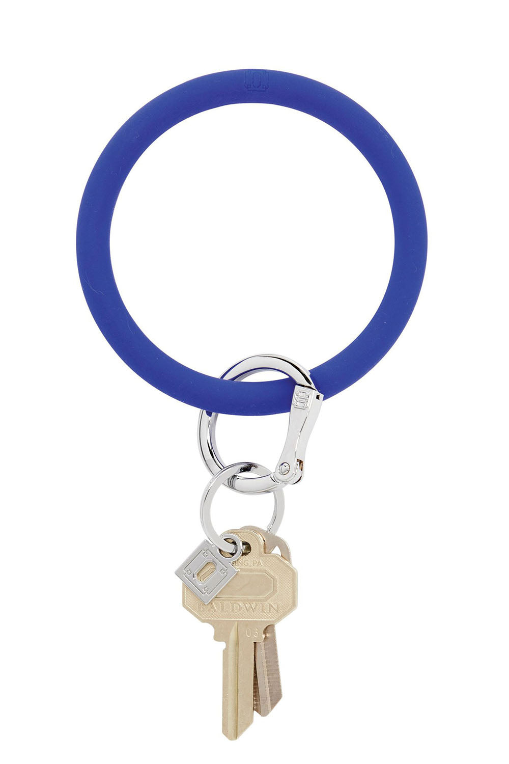 The BIG O Key Ring *Silicone* - Blue Me Away