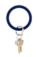 The BIG O Key Ring *Silicone* - Midnight Navy