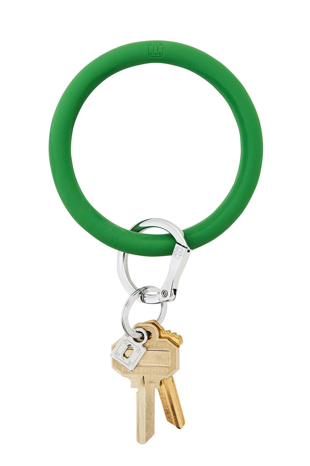 The BIG O Key Ring *Silicone* - Shamrock Green