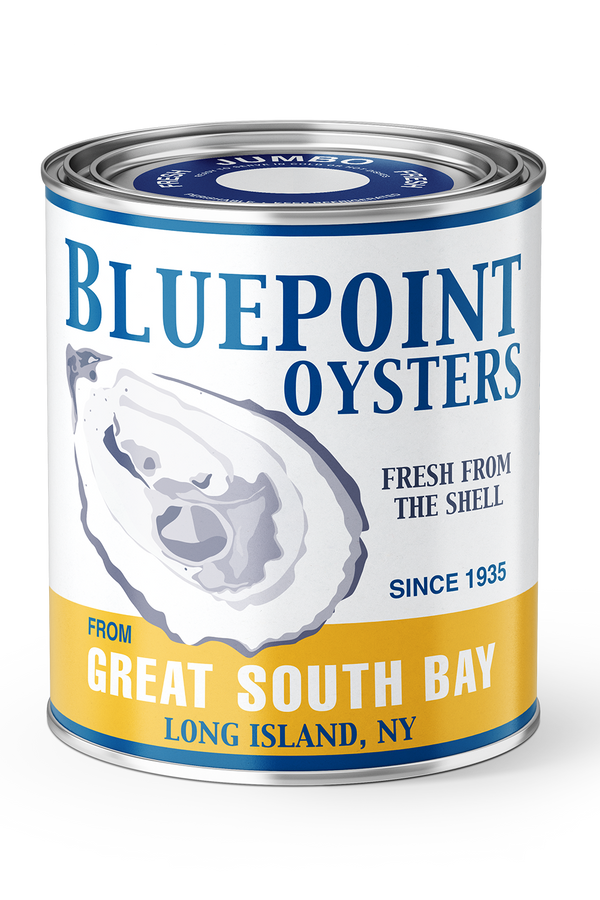 Vintage Can Candle - Blue Point Oysters