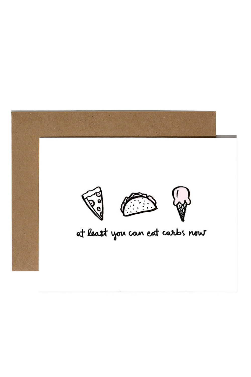 Single Break Up Card - Carbs
