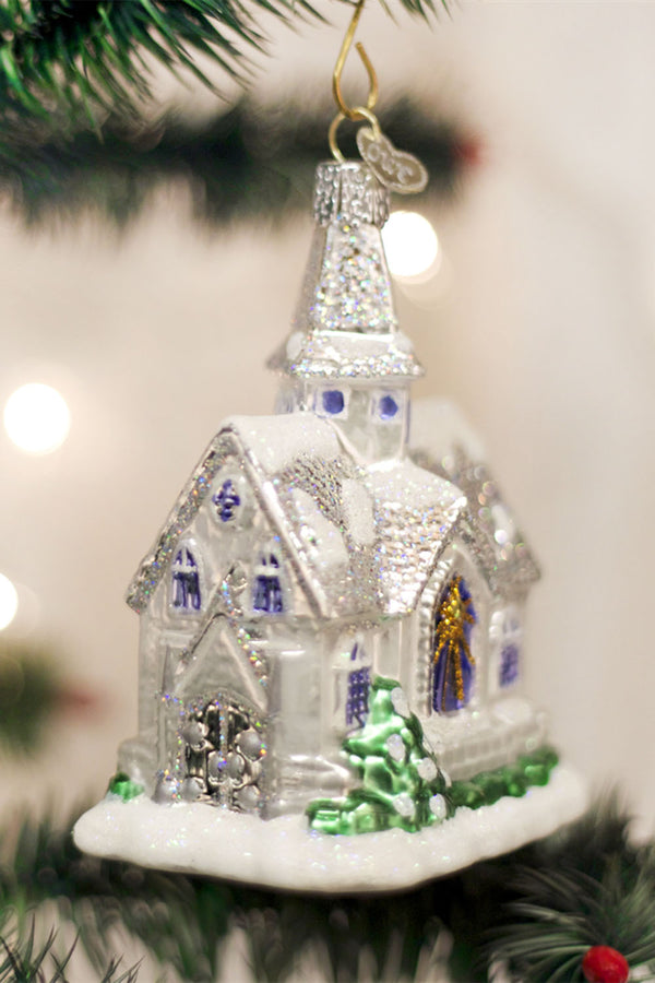 Glass Ornament - Sparkling Cathedral