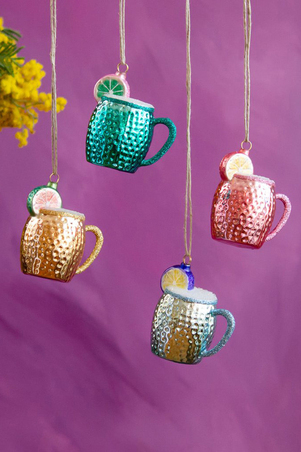 Glass Ornament - Whimsical Moscow Mule