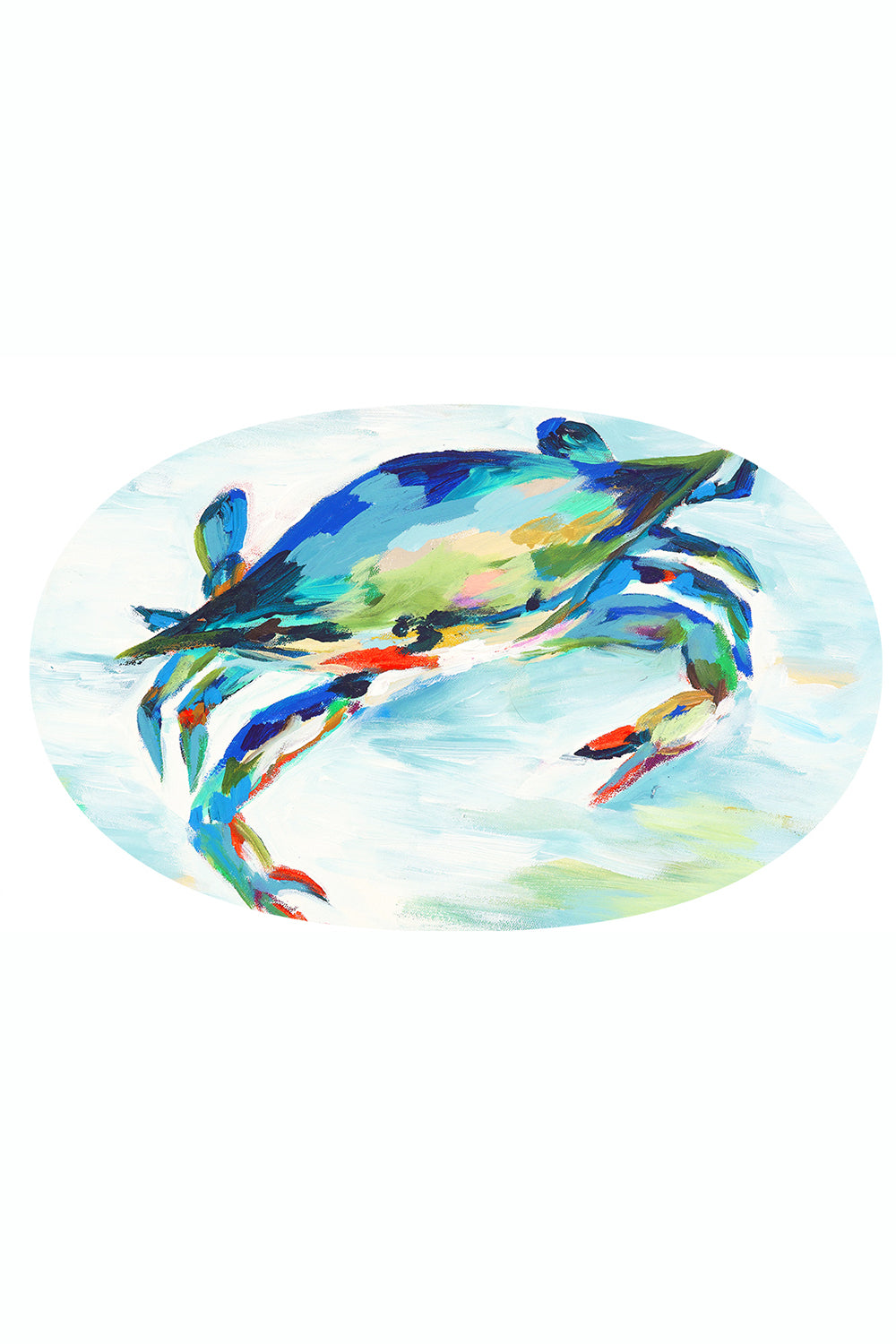 "Mini Melamine Dish - Hovell Maryland Blue Crab ""Exclusive at Whimsicality"""
