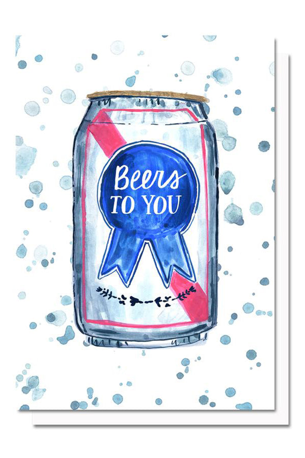 EVH Greeting Card - Beers to You
