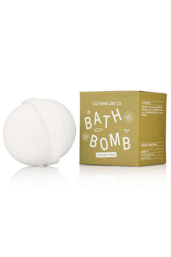 Boxed Bath Bomb - Coconut Milk