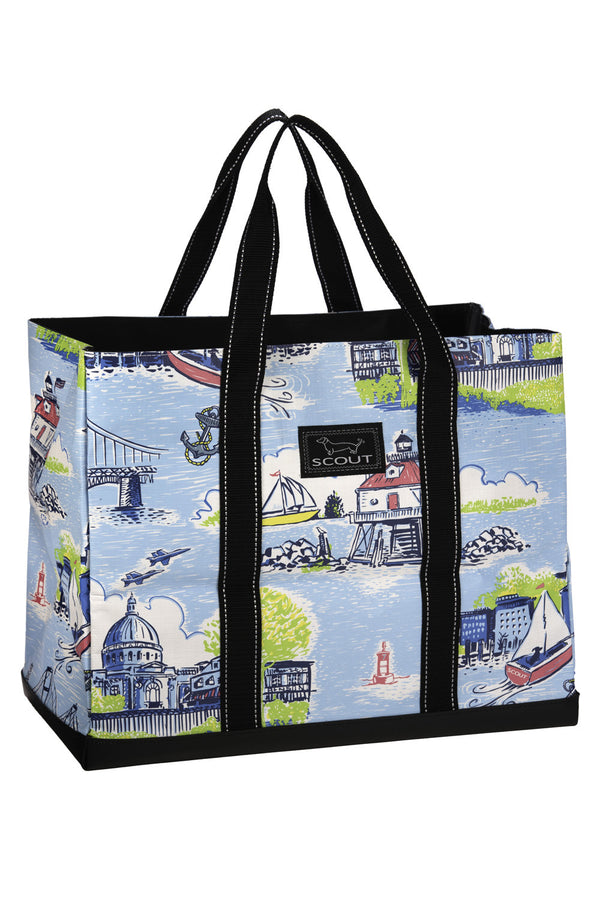 "Original Deano Tote Bag - ""Exclusive Annapolis at Whimsicality"""