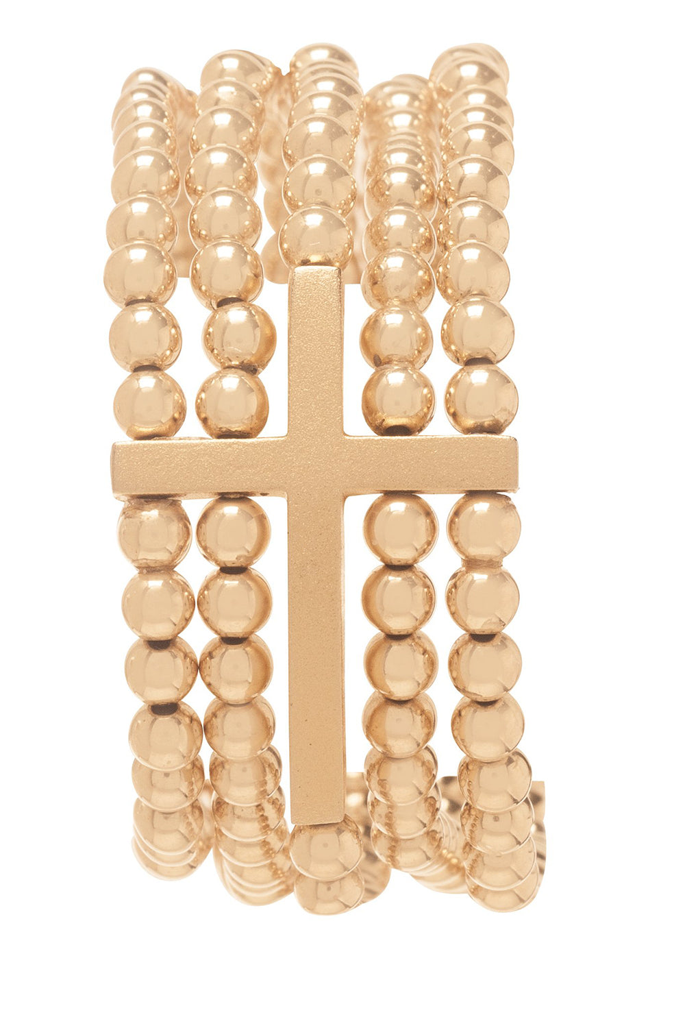 EN Dream Inspire 5 Strand Bracelet - Gold