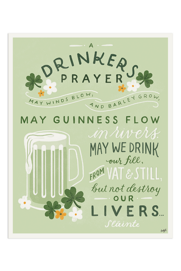 APP Print - Irish Drinkers Prayer