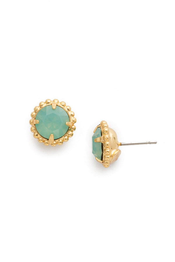 Simplicity Stud Earring - Pacific Opal