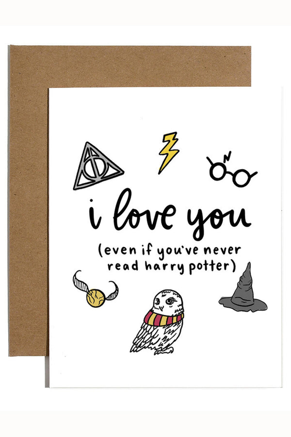 Valentine's Day Card - Harry Potter