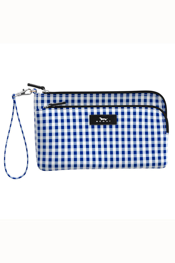 "Kelly Wristlet - ""Brooklyn Checkham"" F19"