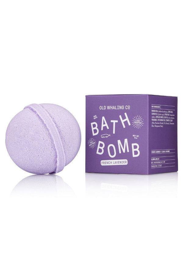 Boxed Bath Bomb - French Lavender