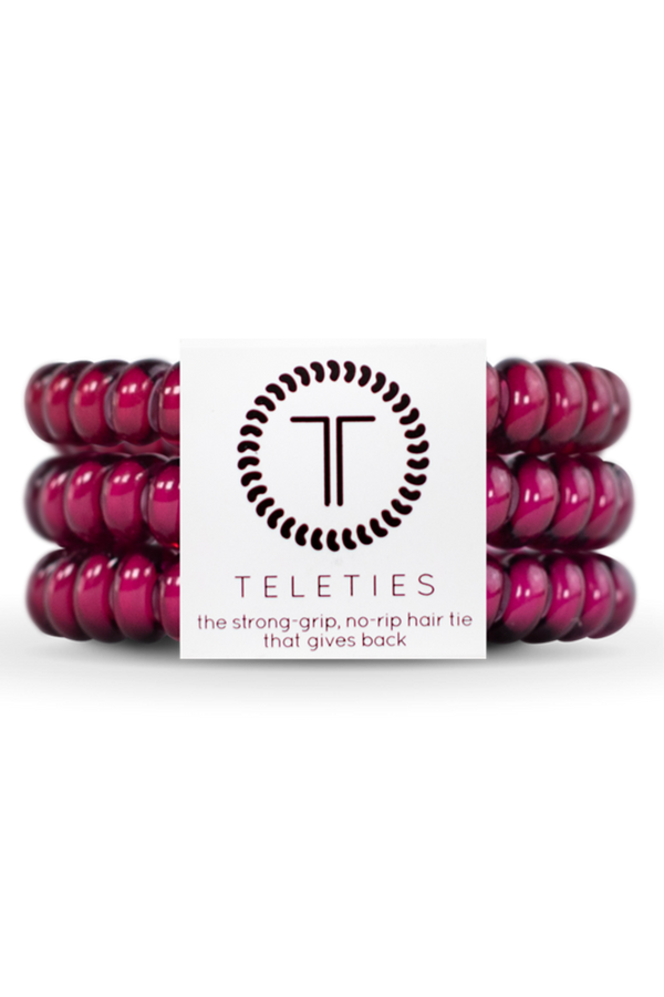 Teleties Hair Ties - Fuchsia is Bright