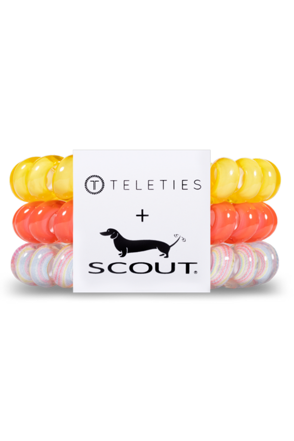 Teleties Hair Ties (SCOUT Collaboration) - Good Vibrations