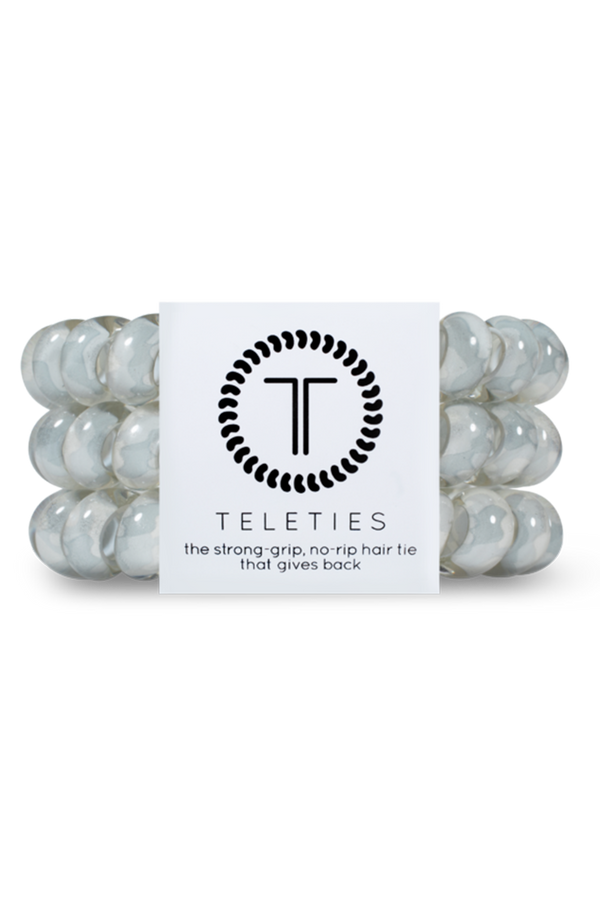 Teleties Hair Ties - Grey Hound