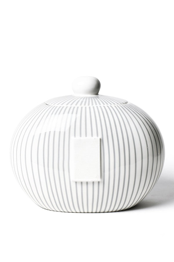 Big Cookie Jar - Stone Skinny Stripe