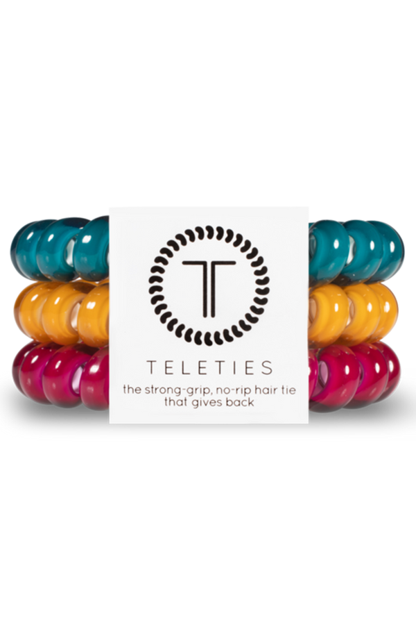 Teleties Hair Ties - Happy Camper