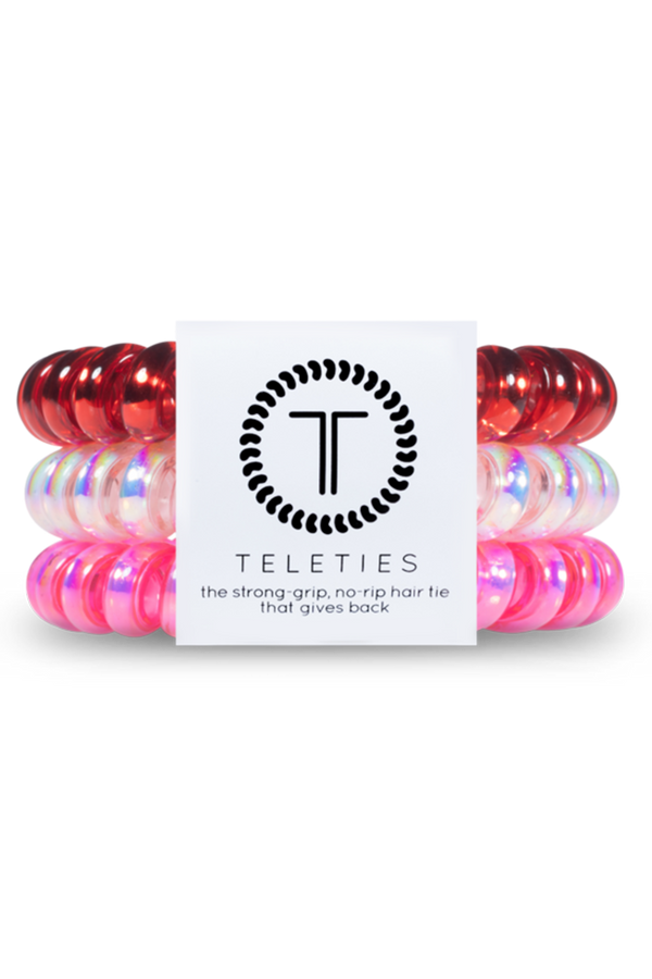 Teleties Hair Ties - Heart Breaker