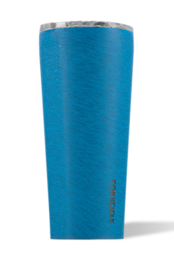 *Heathered* Modern Corkcicle Tumbler - Navy