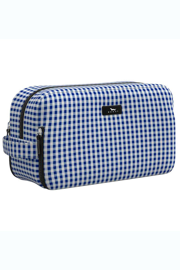 "Glamazon Thermal Toiletry Bag - ""Brooklyn Checkham"" H19"