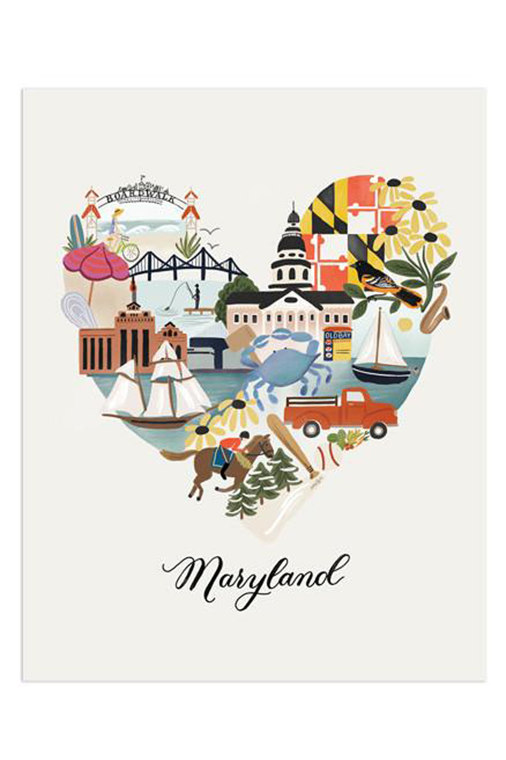 APP Print - I Heart Maryland