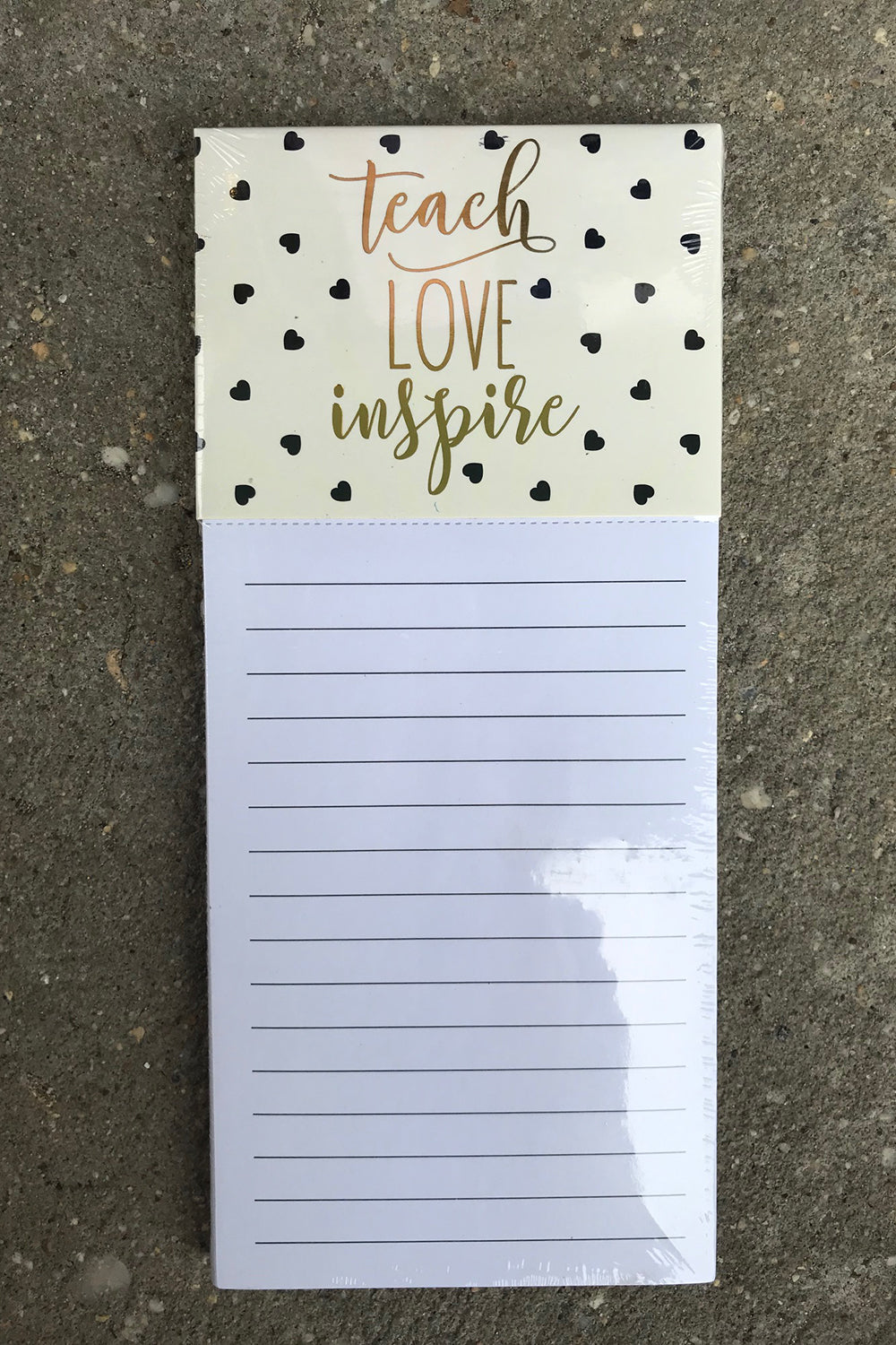 Magnetic Notepad - Teach Love Inspire