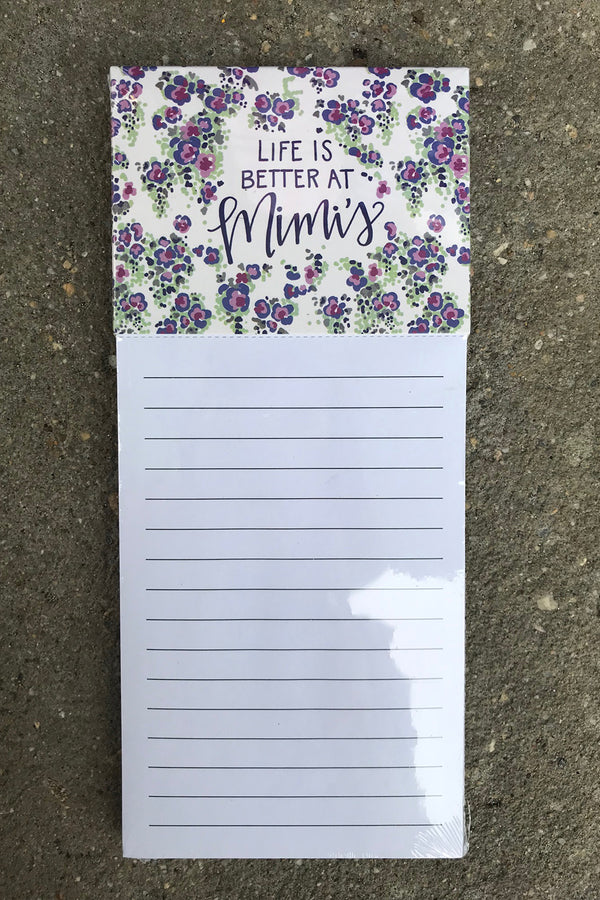 Magnetic Notepad - Mimi