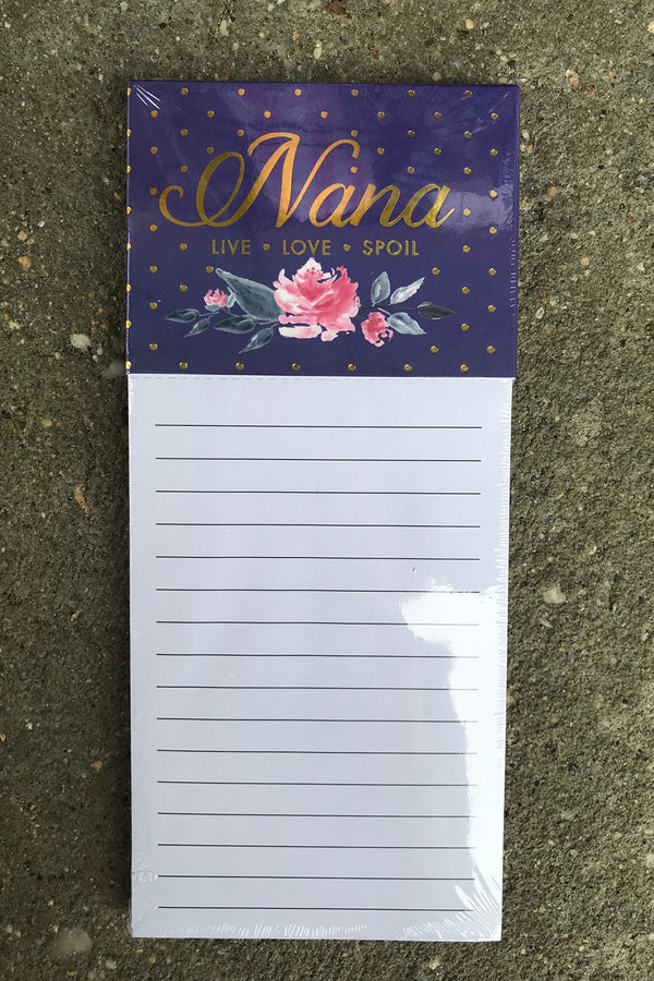 Magnetic Notepad - Nana