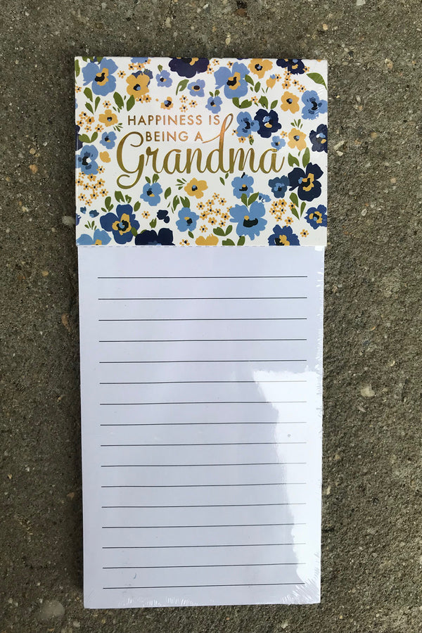 Magnetic Notepad - Grandma