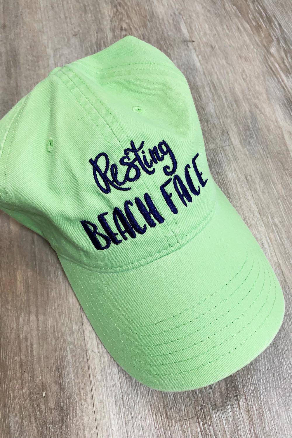 Custom Summer Hat - Honey Do Green