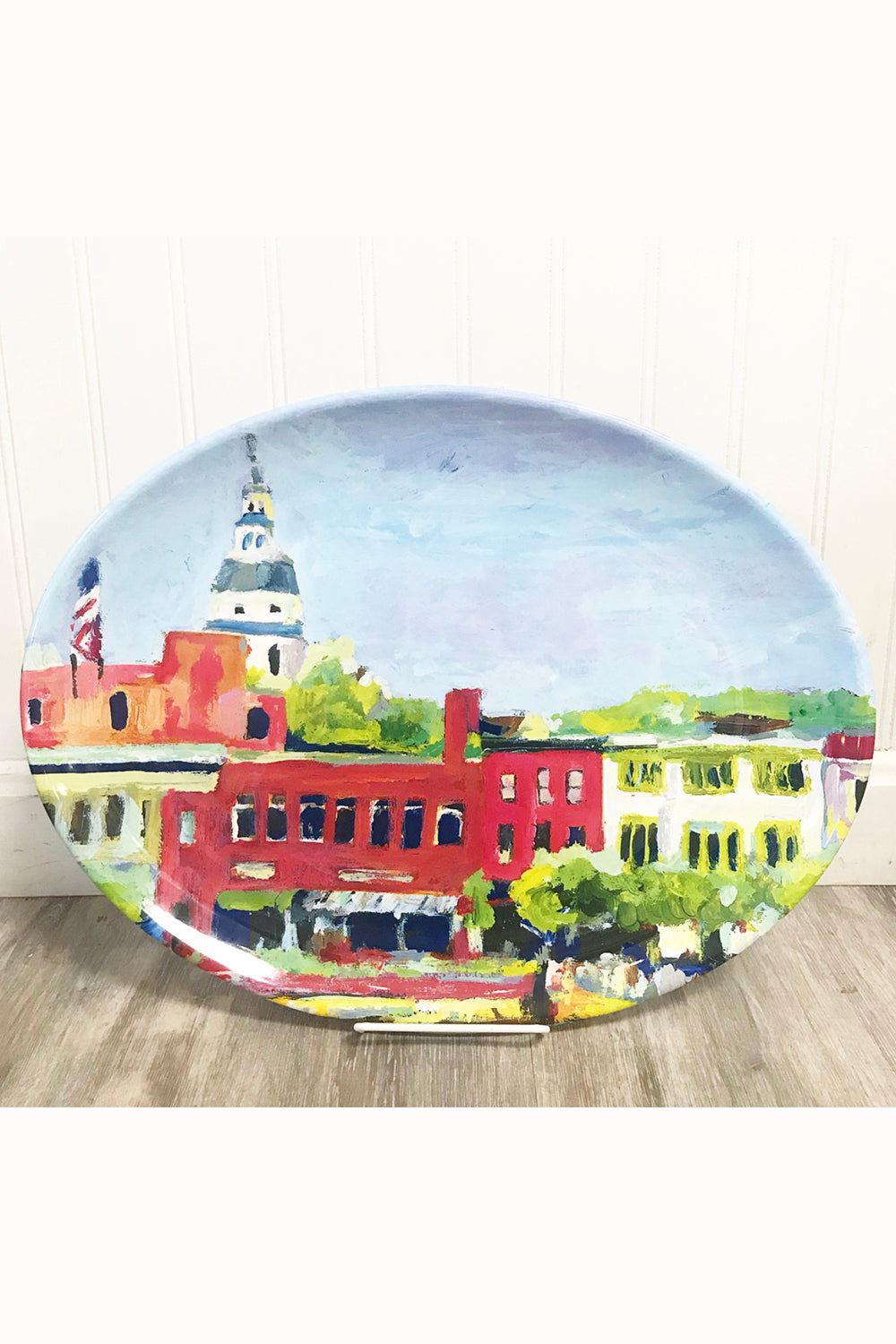 "Local Melamine Platter - Hovell Market Street ""Exclusive at Whimsicality"""