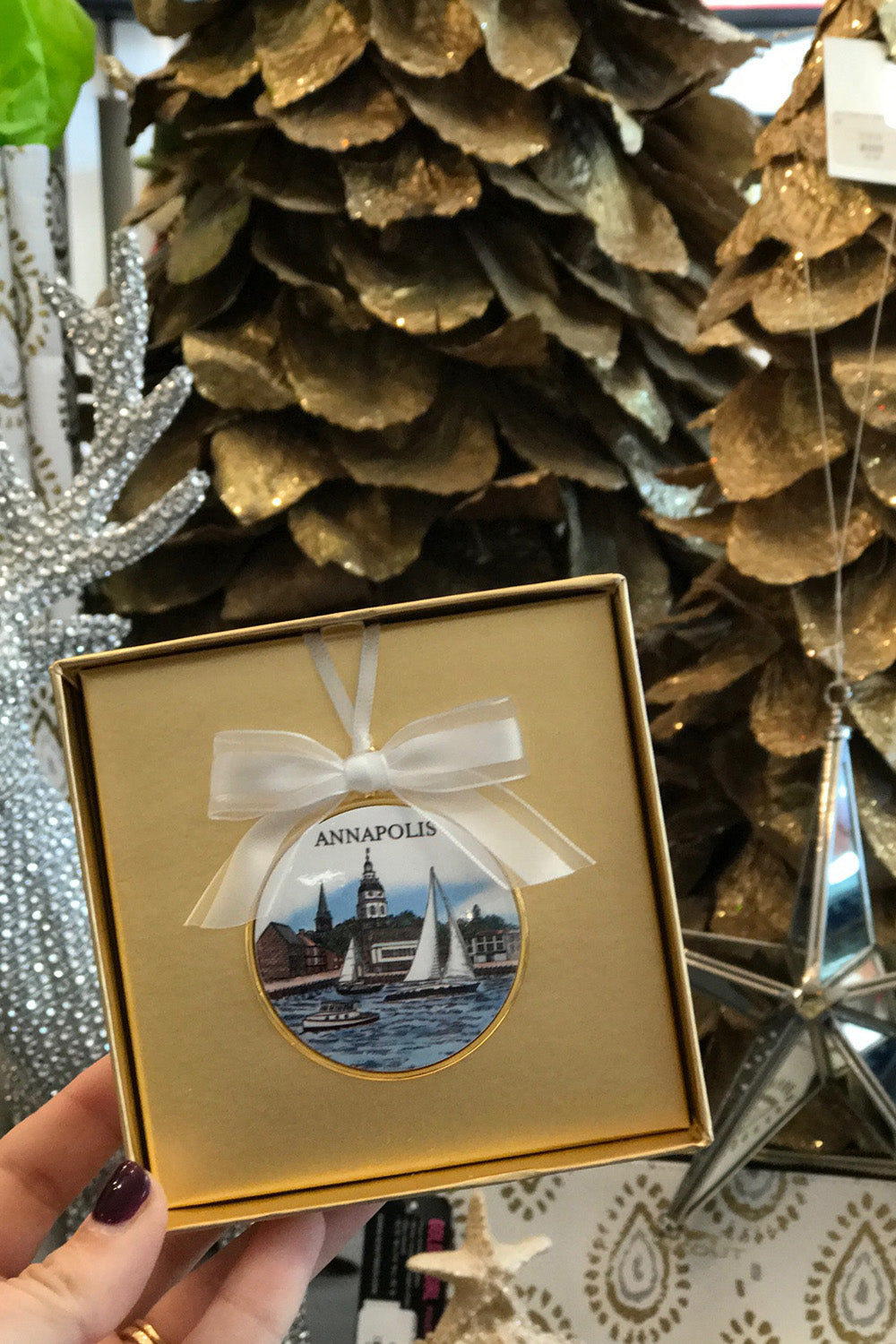 Annapolis Harbour Ornament
