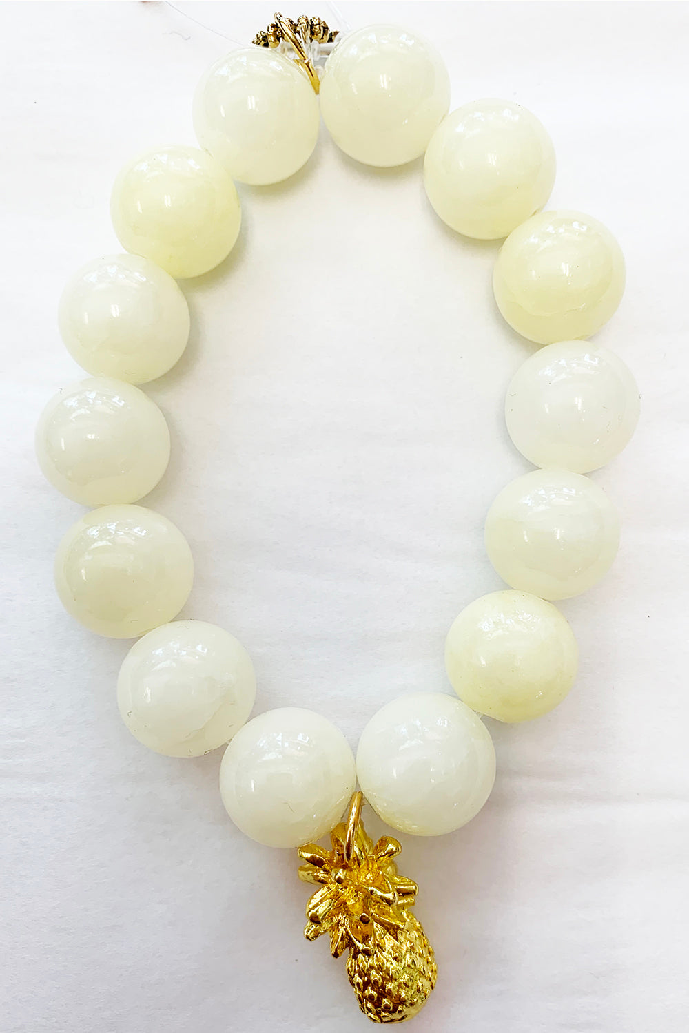 Power Beads by Jen Bracelet - Pineapple Gold