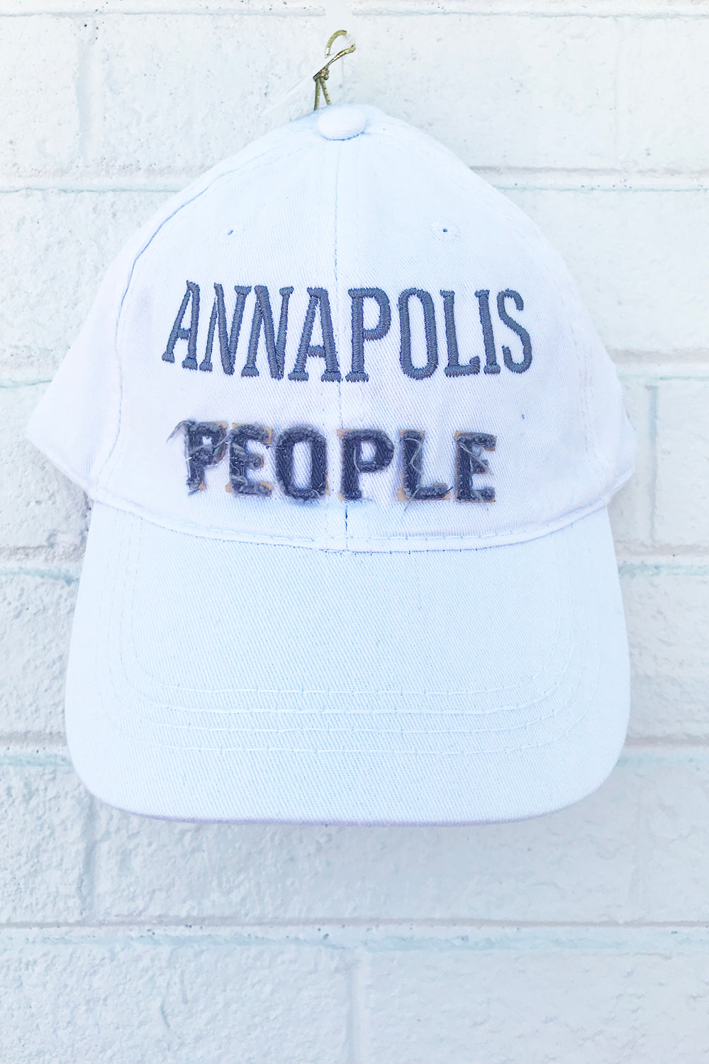 Adjustable Hat - Annapolis People *Whims Exclusive*