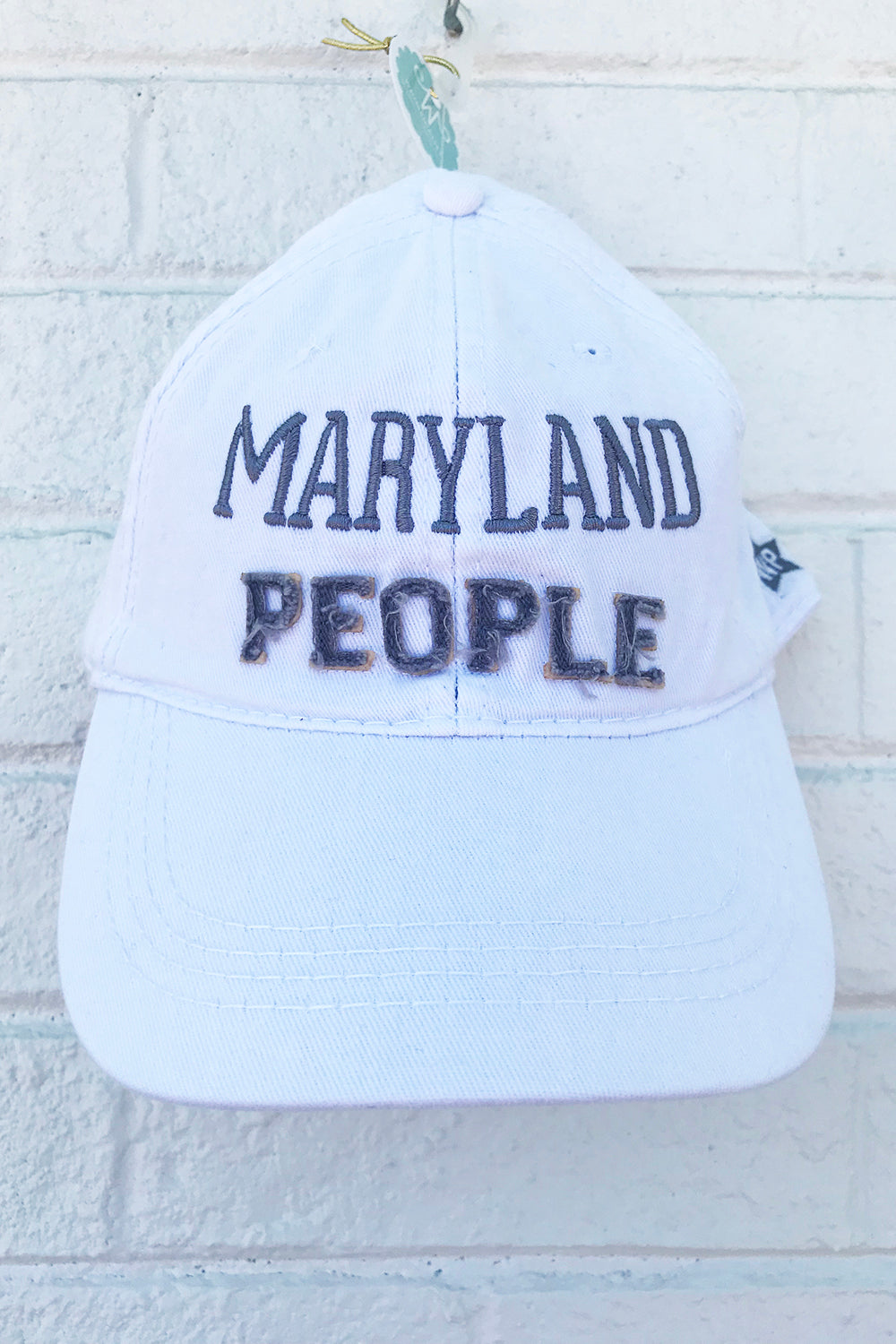 Adjustable Hat - Maryland People *Whims Exclusive*