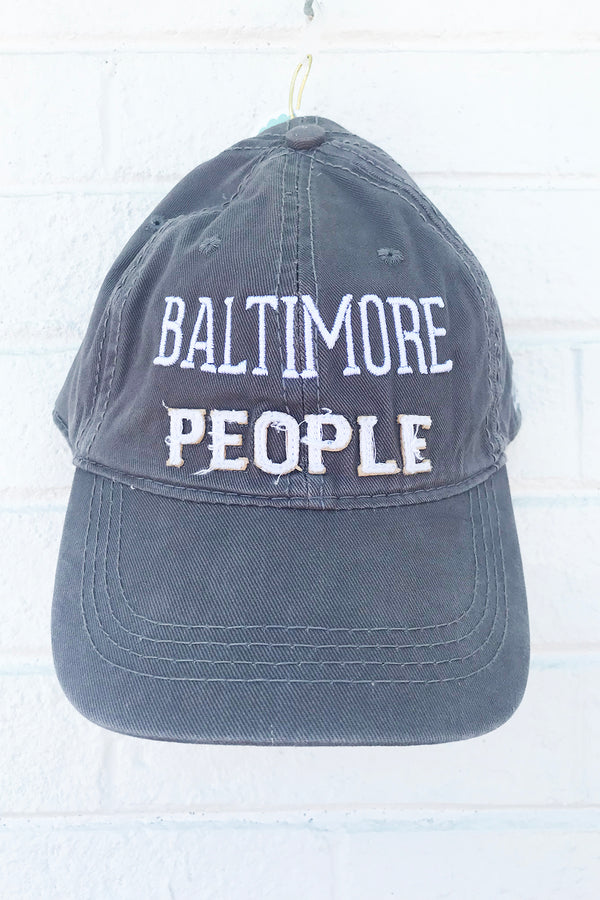 Adjustable Hat - Baltimore People *Whims Exclusive*