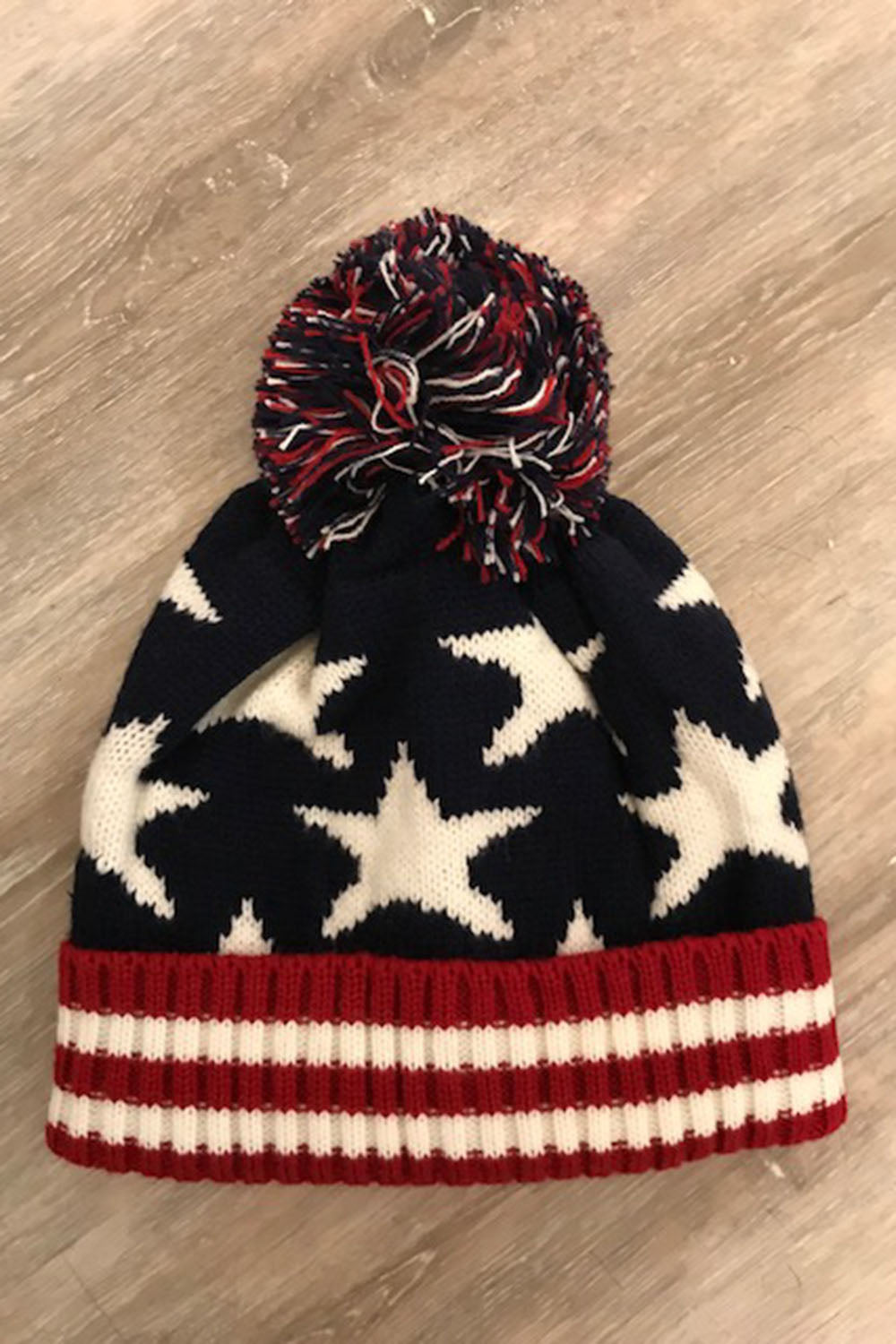 American Flag Winter Hat