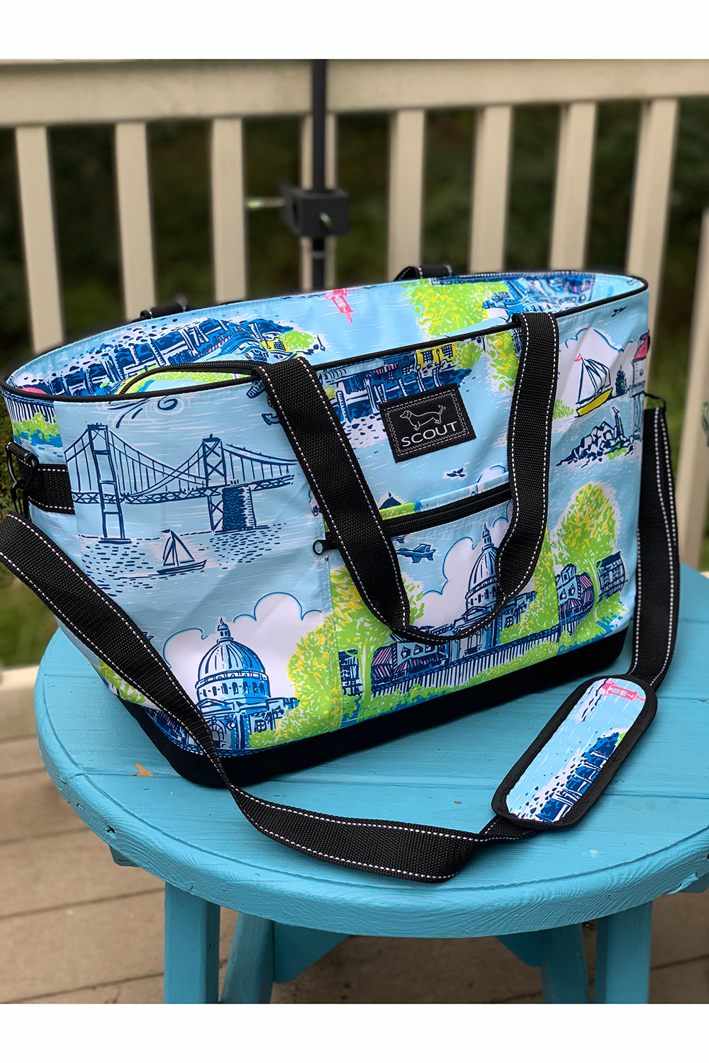 "*PRE ORDER ONLY* Icebreaker Cooler - ""Exclusive Annapolis at Whimsicality"""