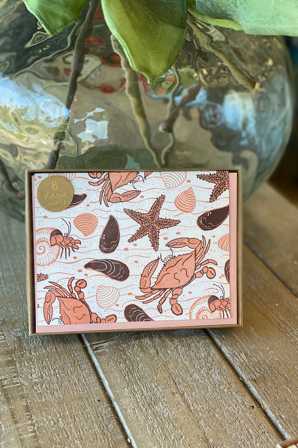 Boxed Notecards - Crab Beach