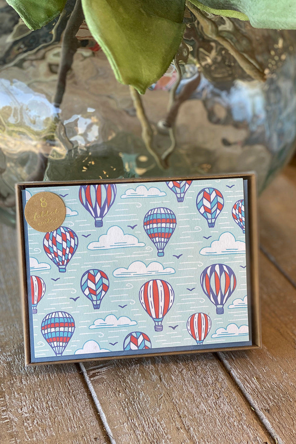 Boxed Notecards - Hot Air Balloon