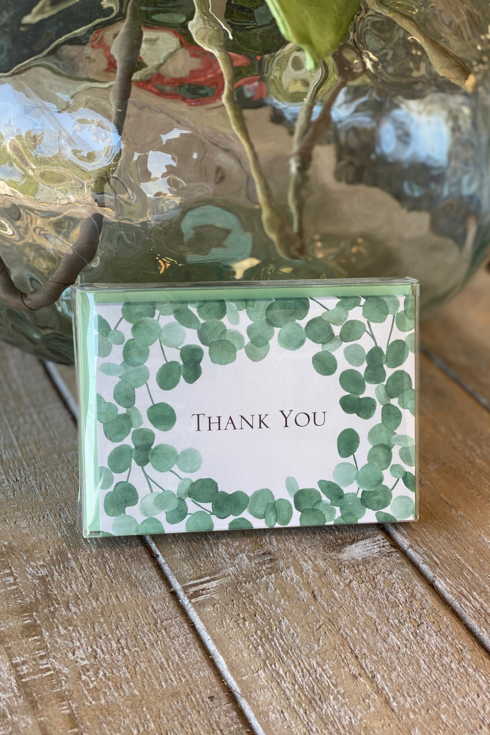 Boxed Notecards - Thank You Eucalyptus