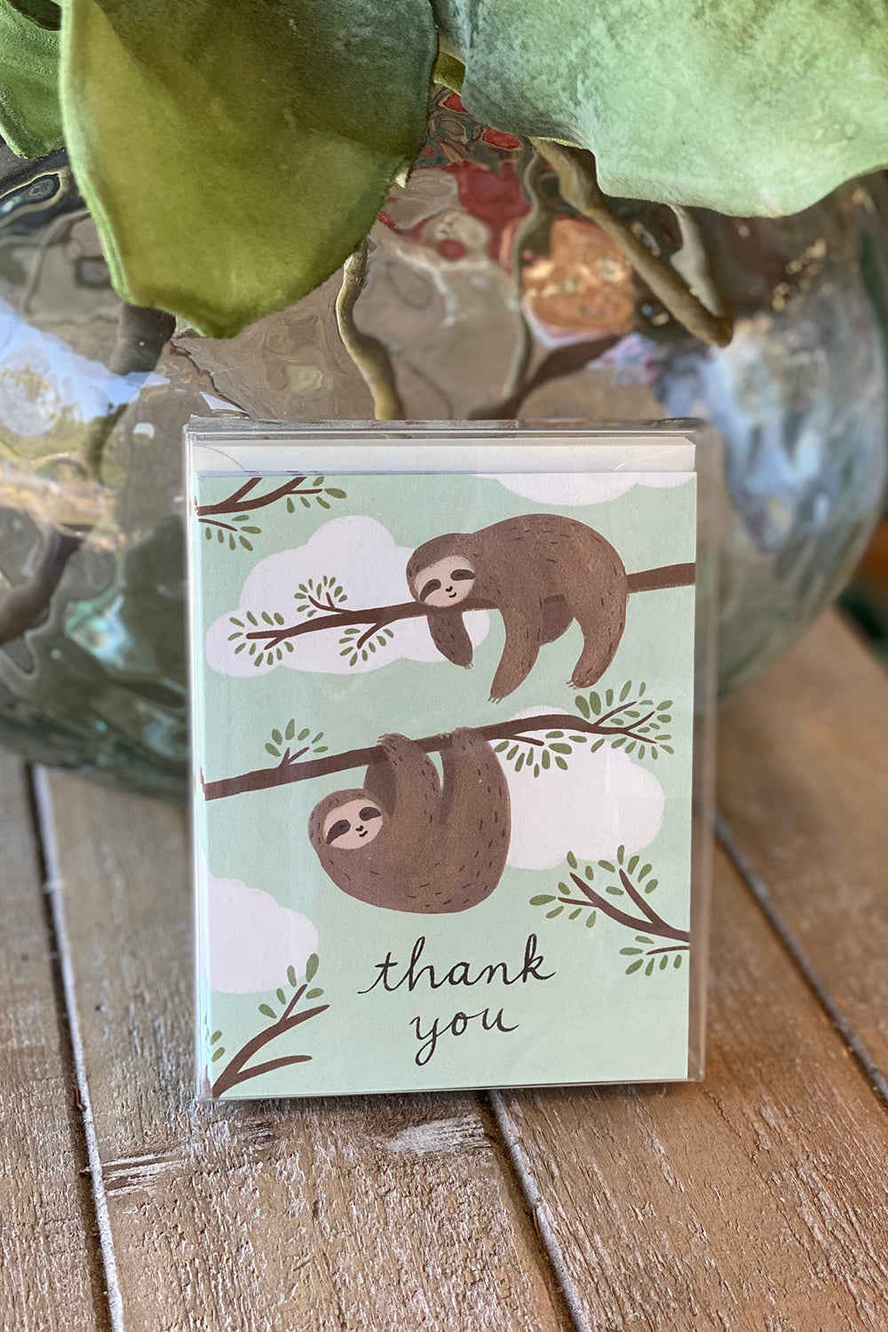 Boxed Notecards - Thank You Sloths