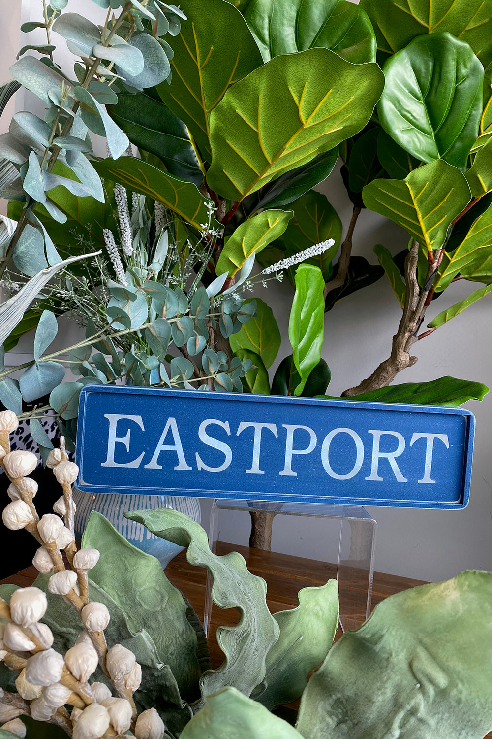 Local Wooden Places Sign - Eastport