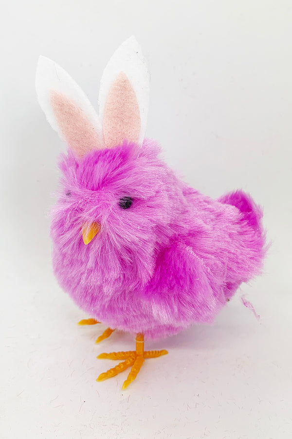 Chick with Bunny Ears - Purple